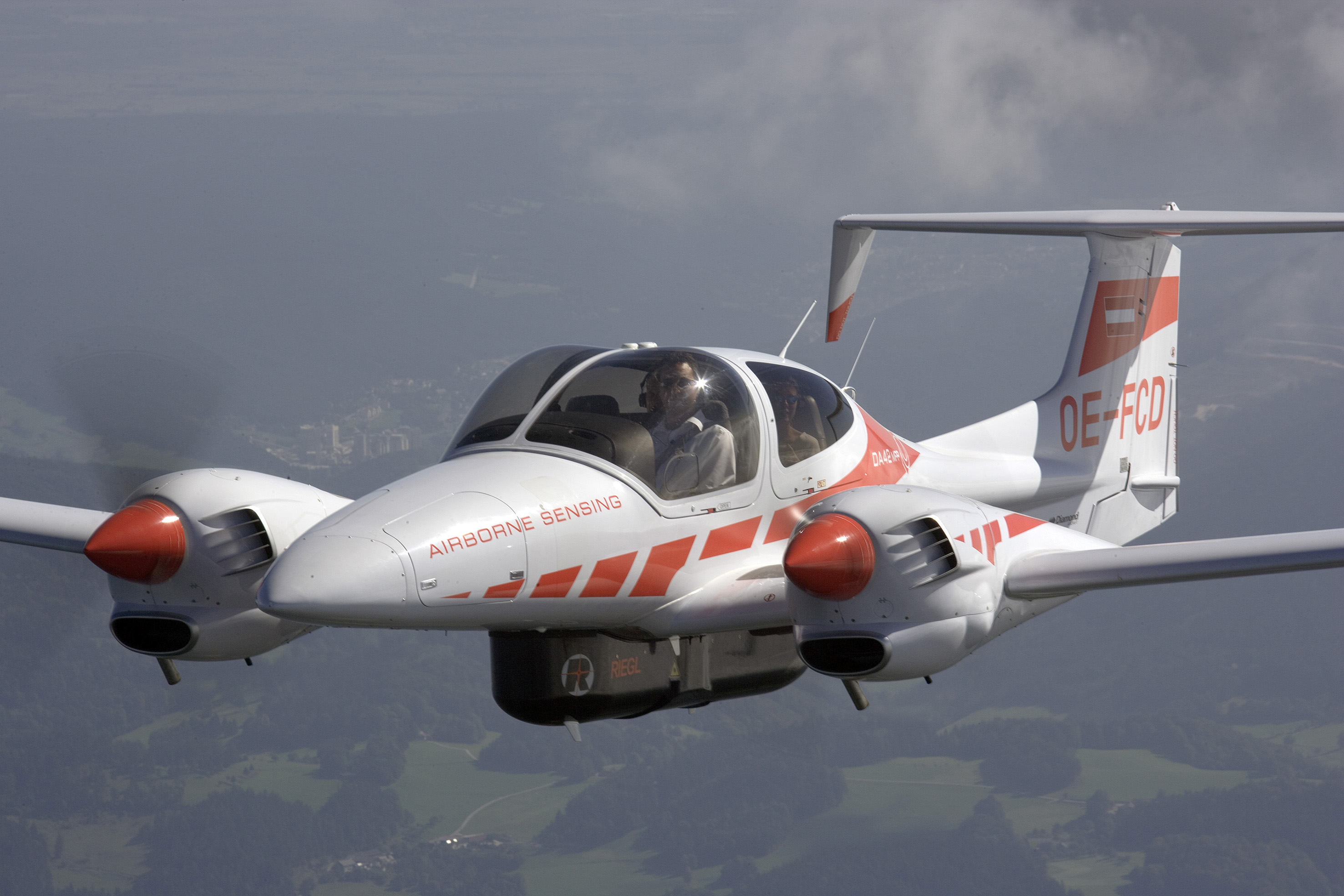 Diamond Airborne Sensing Obtained Certification For The