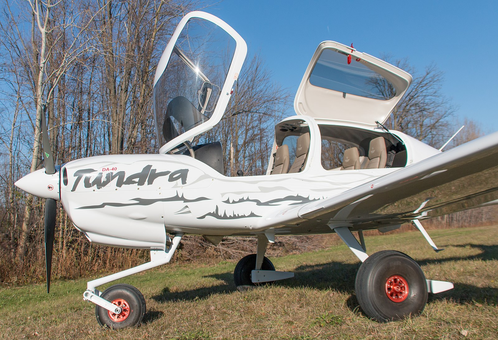 Diamond Aircraft Introduces Jet Fuel Powered Da40 Tundra